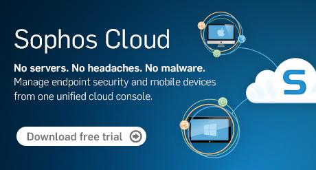 Sophos Cloud 30 dagen Trial